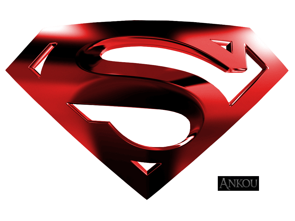 Superman Red Logo Png #1527