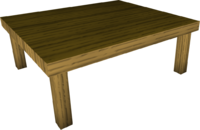 file wood kitchen table built #13437