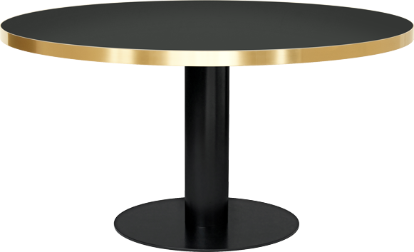 round glass dining table gubi the modern shop #13467