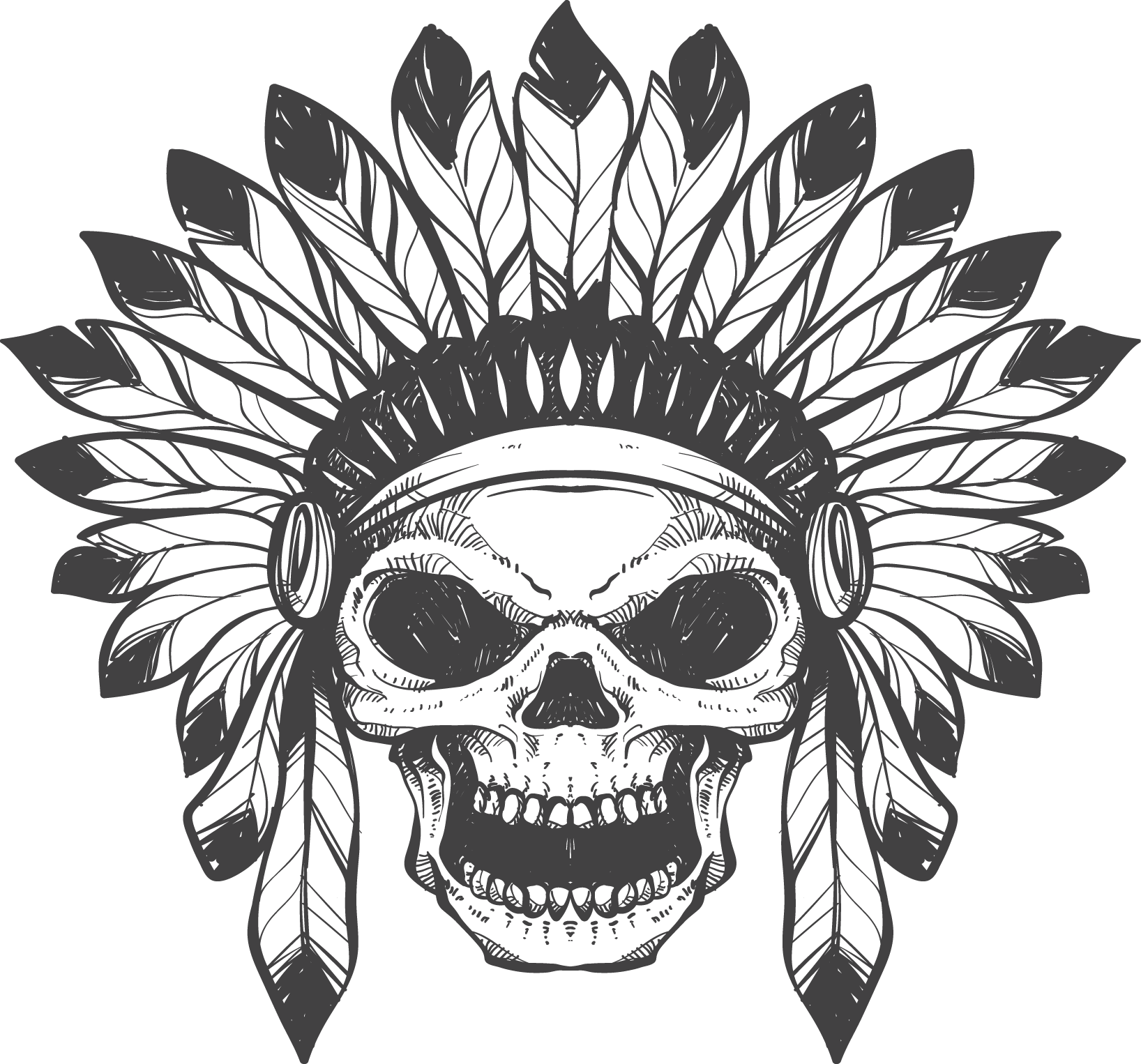 skull tattoo png transparent images png only #11830