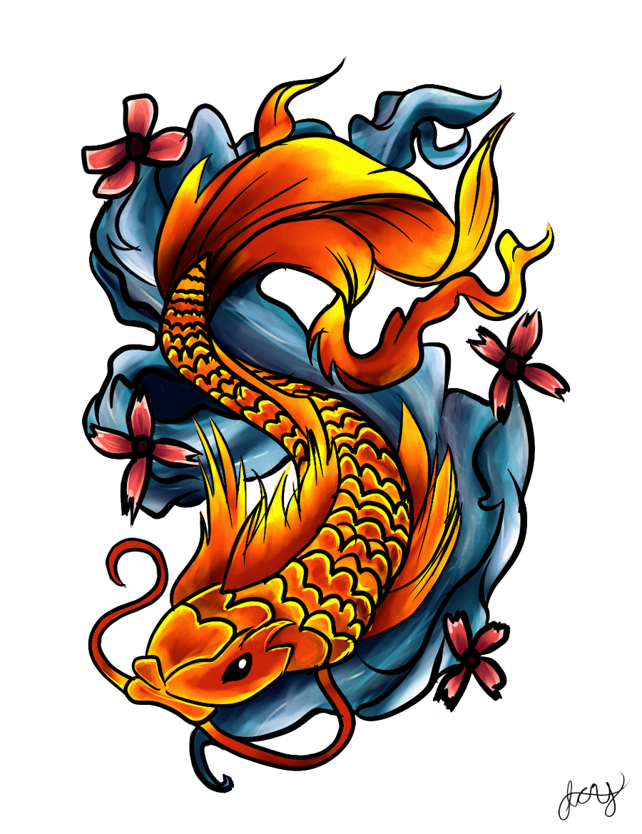 tattoo png fish tattoos png transparent fish tattoos images #11833