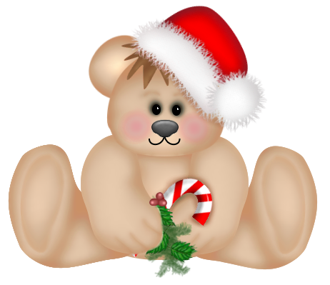 christmas png cute teddy bear clipart gallery #15702