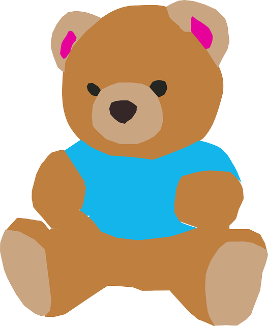 teddy bear vector graphic pixabay #15721