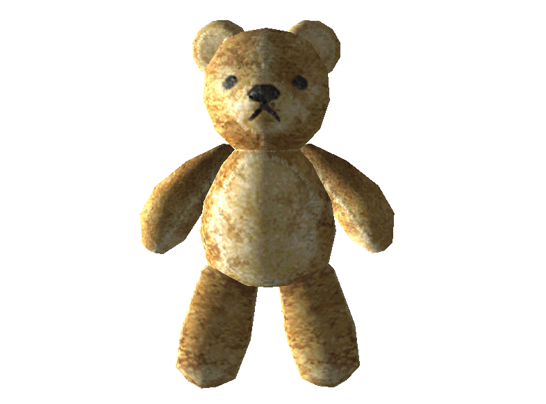 teddy bear, yew bear charm the vault fallout wiki fallout #15640