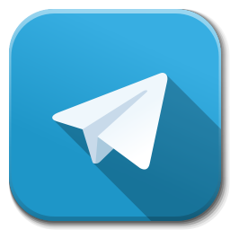 apps telegram icon flatwoken iconset alecive #21814