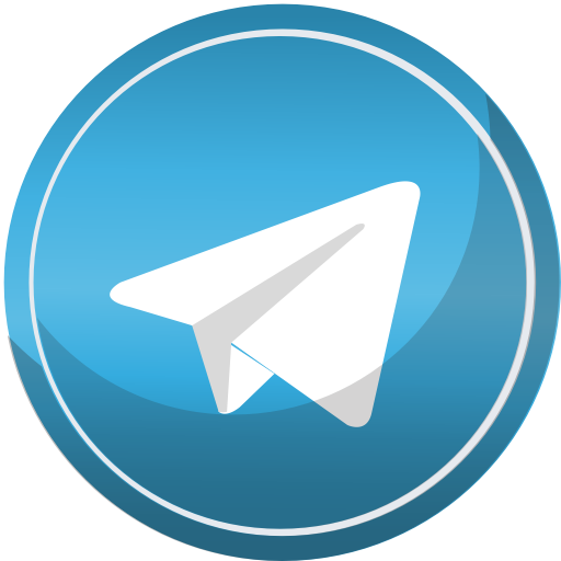 contact media social telegram web icon #21811