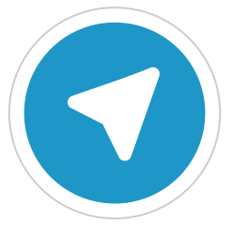 telegram icon flat style available svg png eps #21821