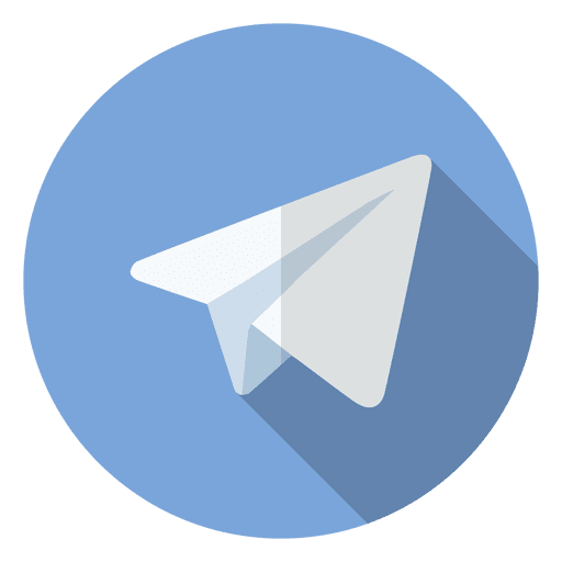 telegram icon logo transparent png svg vector #21802