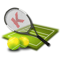 tennis icon olympic games iconset kidaubis design #26720