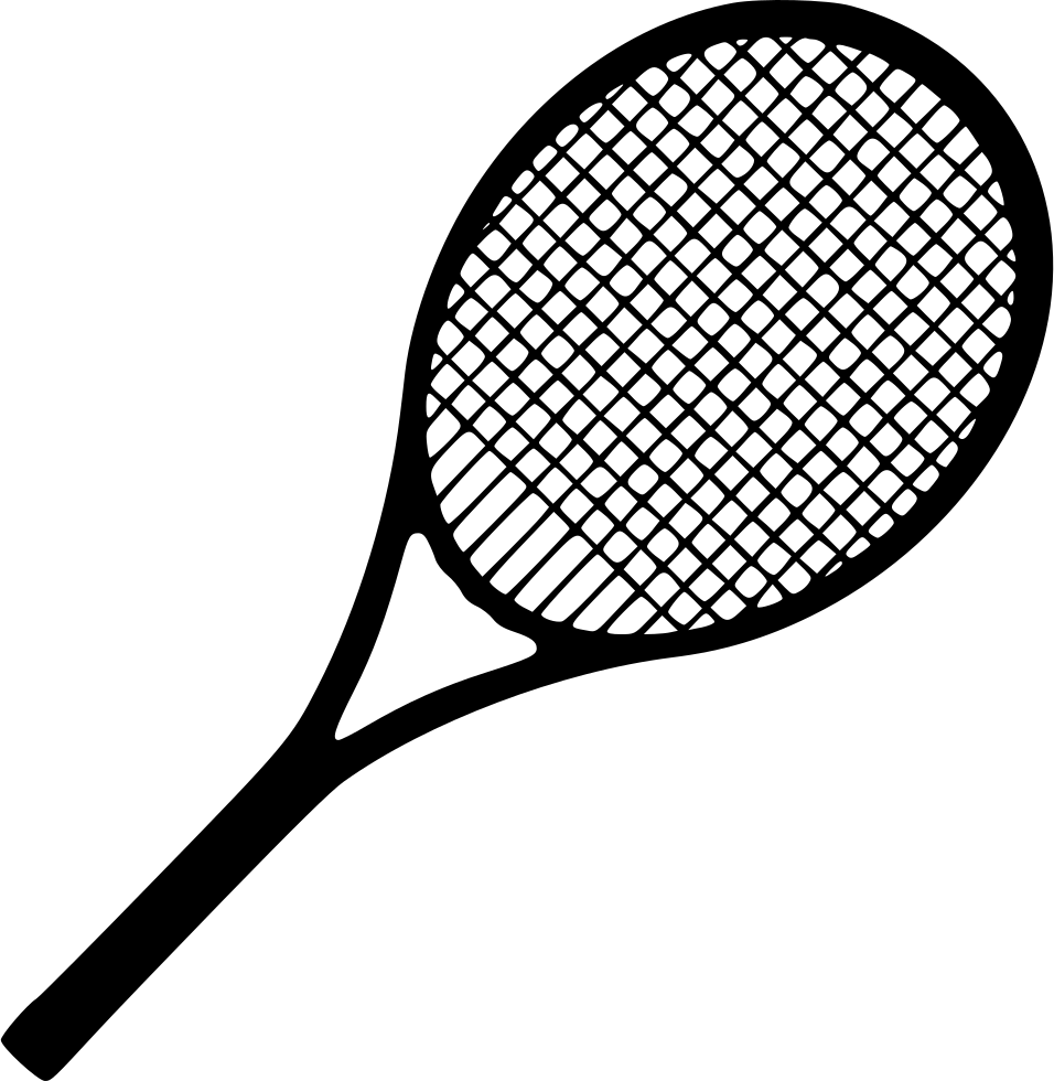 tennis racket equipment svg png icon download #26744