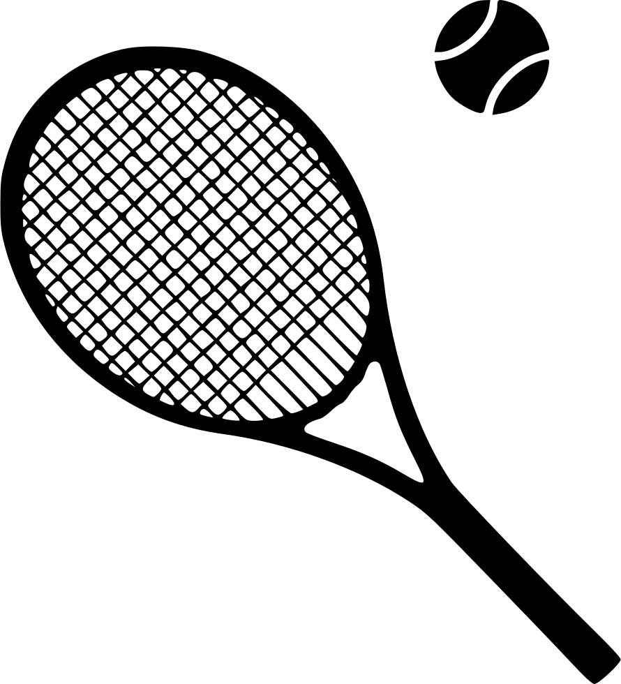 tennis racket equipment svg png icon download #26750