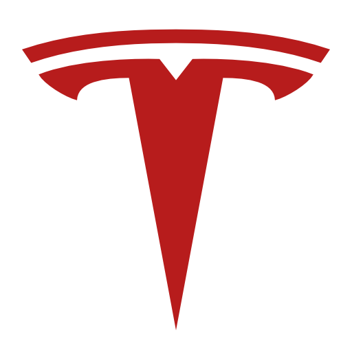 tesla logo red png #2225
