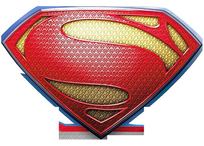 Textured Superman Logo Png #1549