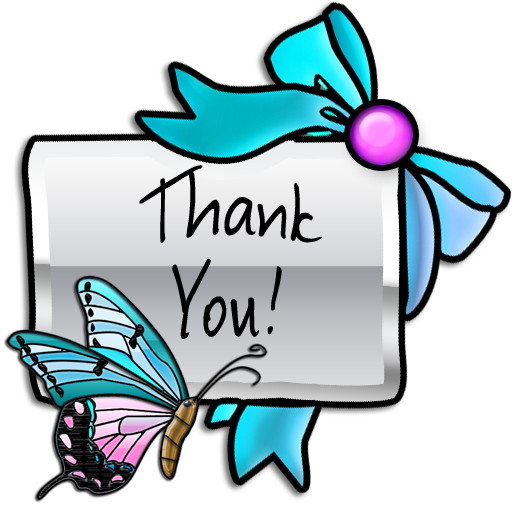 thank you png butterflies icondoit #11886
