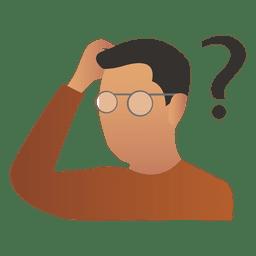 Thinking Png Person Thinking Emoji Thinking Boy Cartoon Images Free Download Free Transparent Png Logos