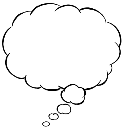 download thought bubble png transparent image and clipart #30889