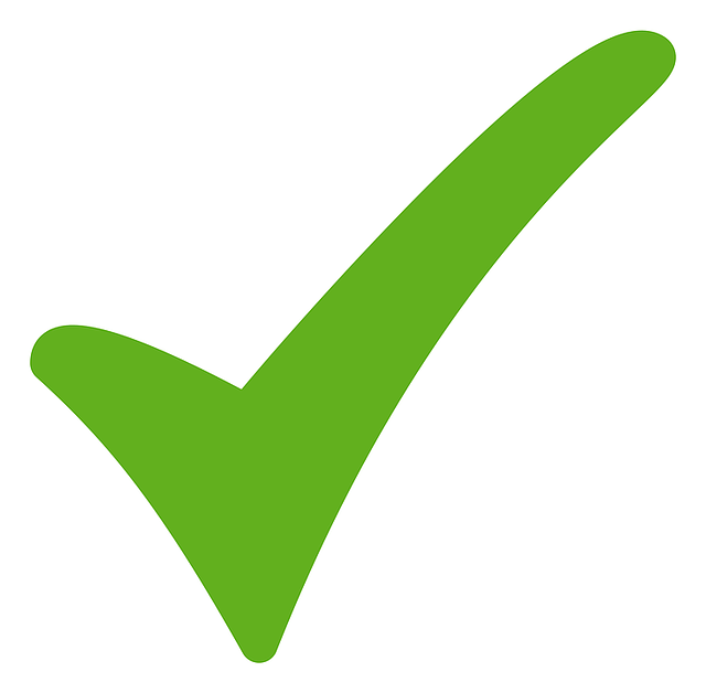 check mark tick vector graphic #33848