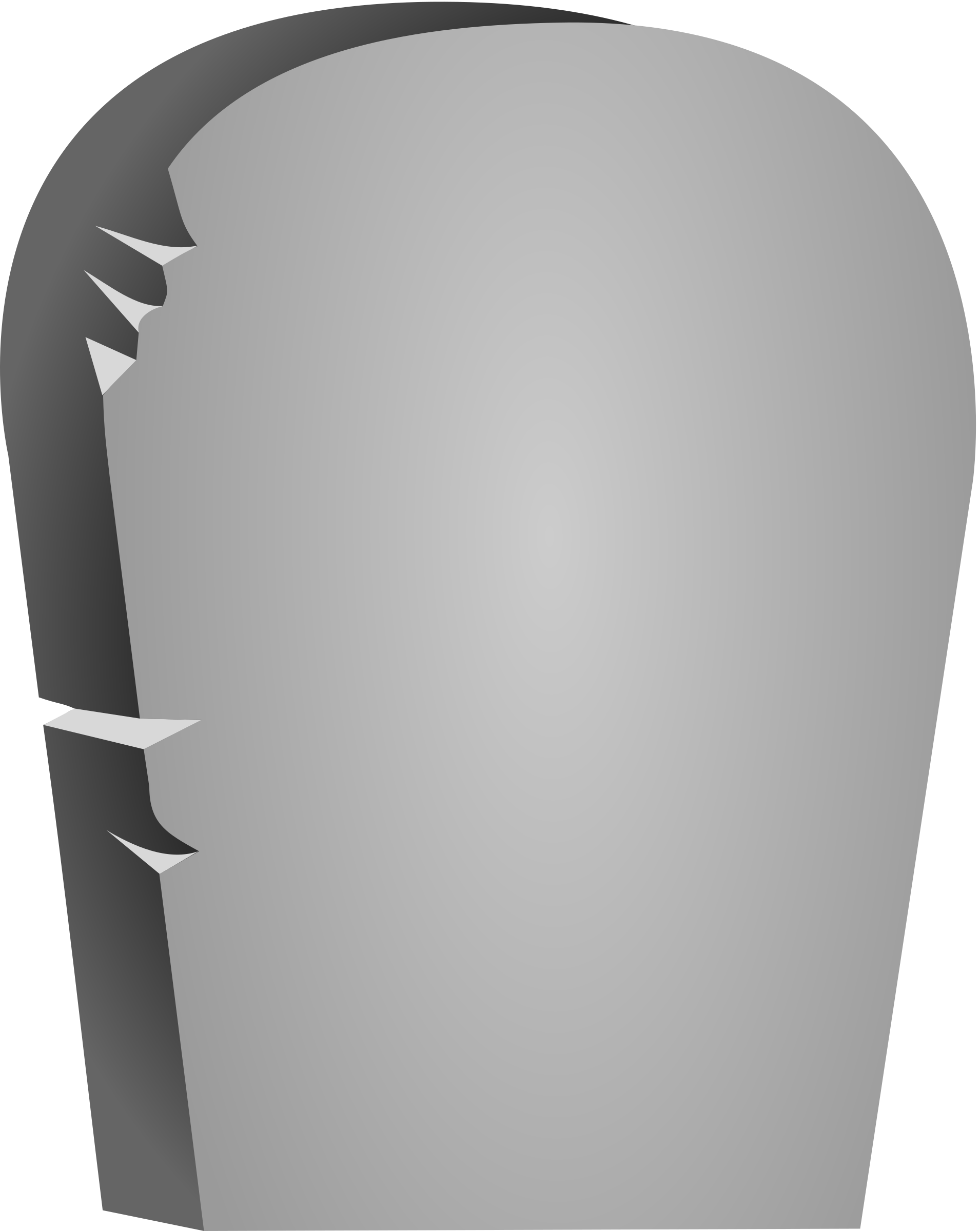 clipart halloween rounded tombstone #23252