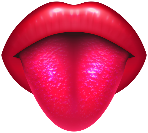 mouth with protruding tongue png clip art best web clipart #36482