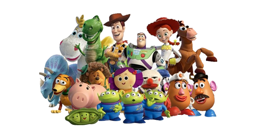 download free toy story transparent clipart, cartoon characters #41220