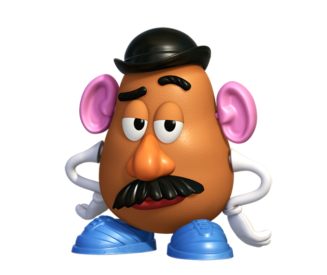 potato transparent toy story character png #41209