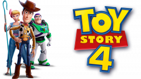 toy story 4 logo png with movie character #41221