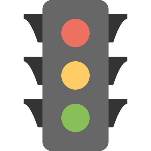 traffic light icon flat sample iconset squid ink #30579