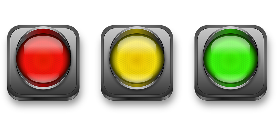 traffic light vector vector graphic pixabay #30570
