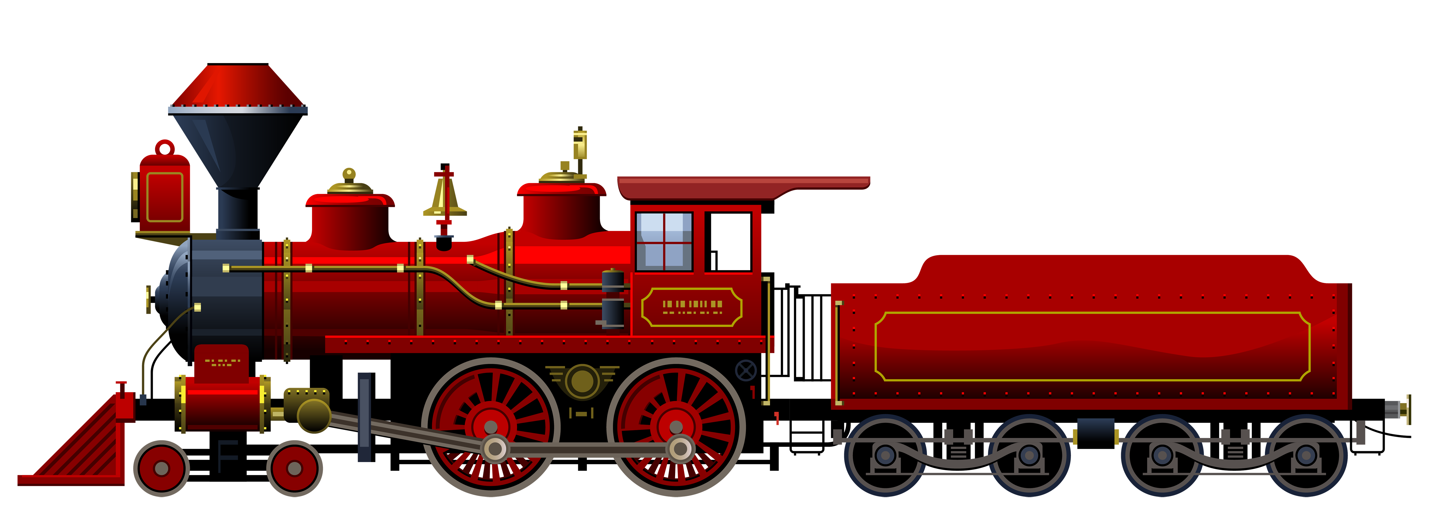 locomotive clipart red train pencil and color #16212