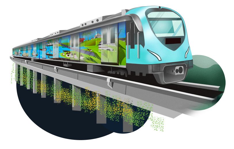 train, home kochi metro rail ltd #16213