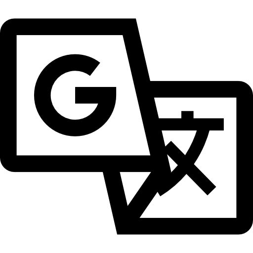 black google translate logo icon #39925