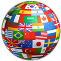 World flag maps, translate world language symbol #39946