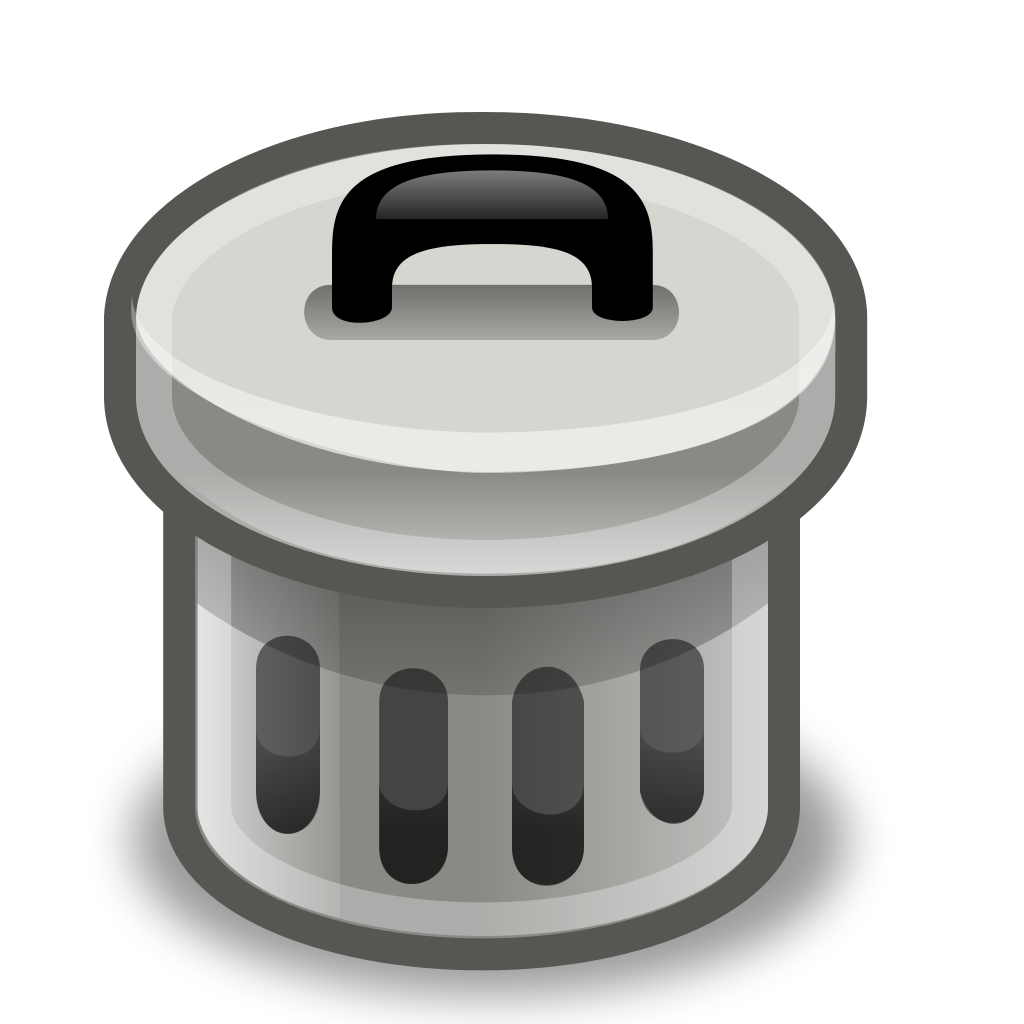 file trash can svg wikimedia commons #24856