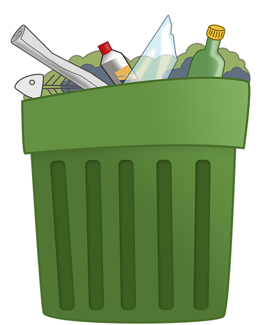 trash can, illustration trash dump recycling recycle #24845