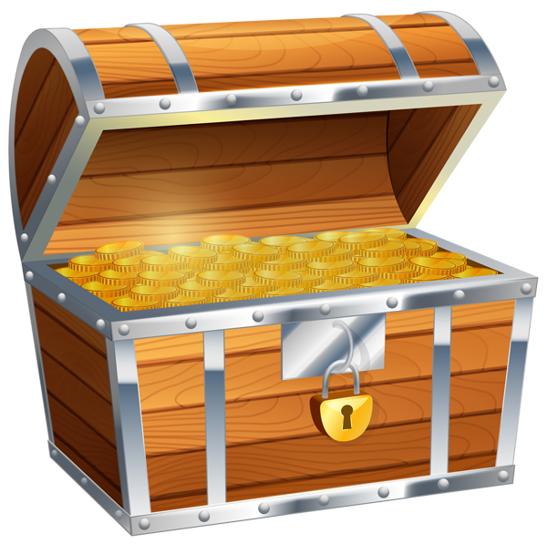 treasure chest genes gifs animados dal cofres #36254