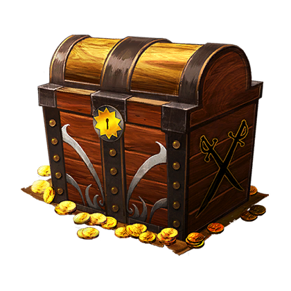 treasure chest pirate booty chest official smite wiki #36256