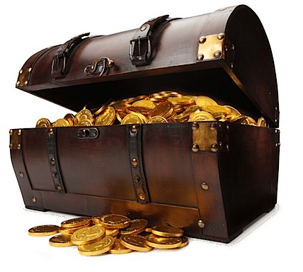 treasure chest transparent png stickpng #36251