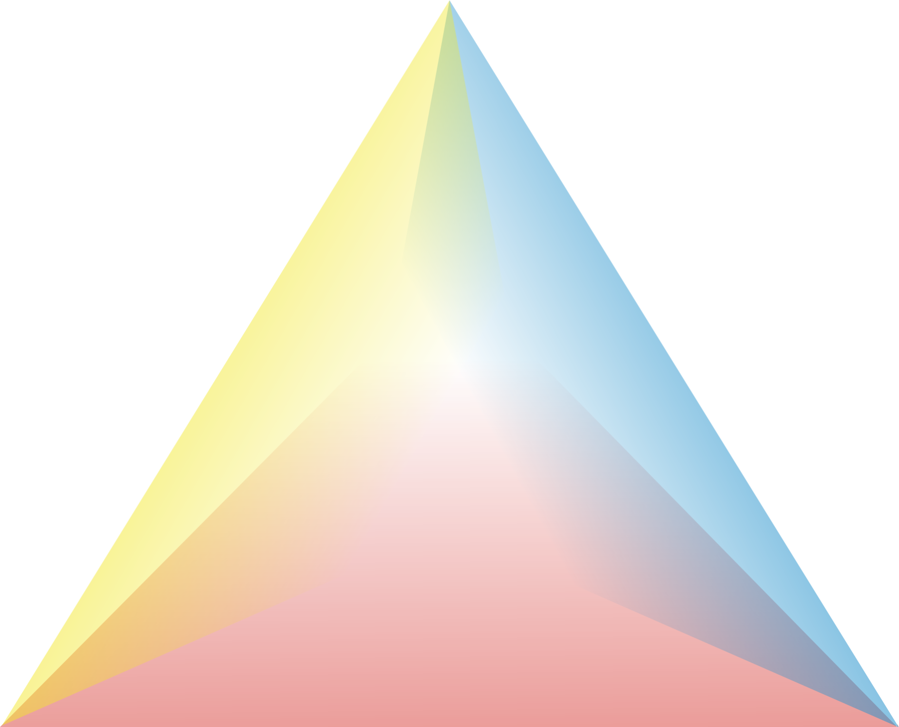 colorful triangle clipart png #41351