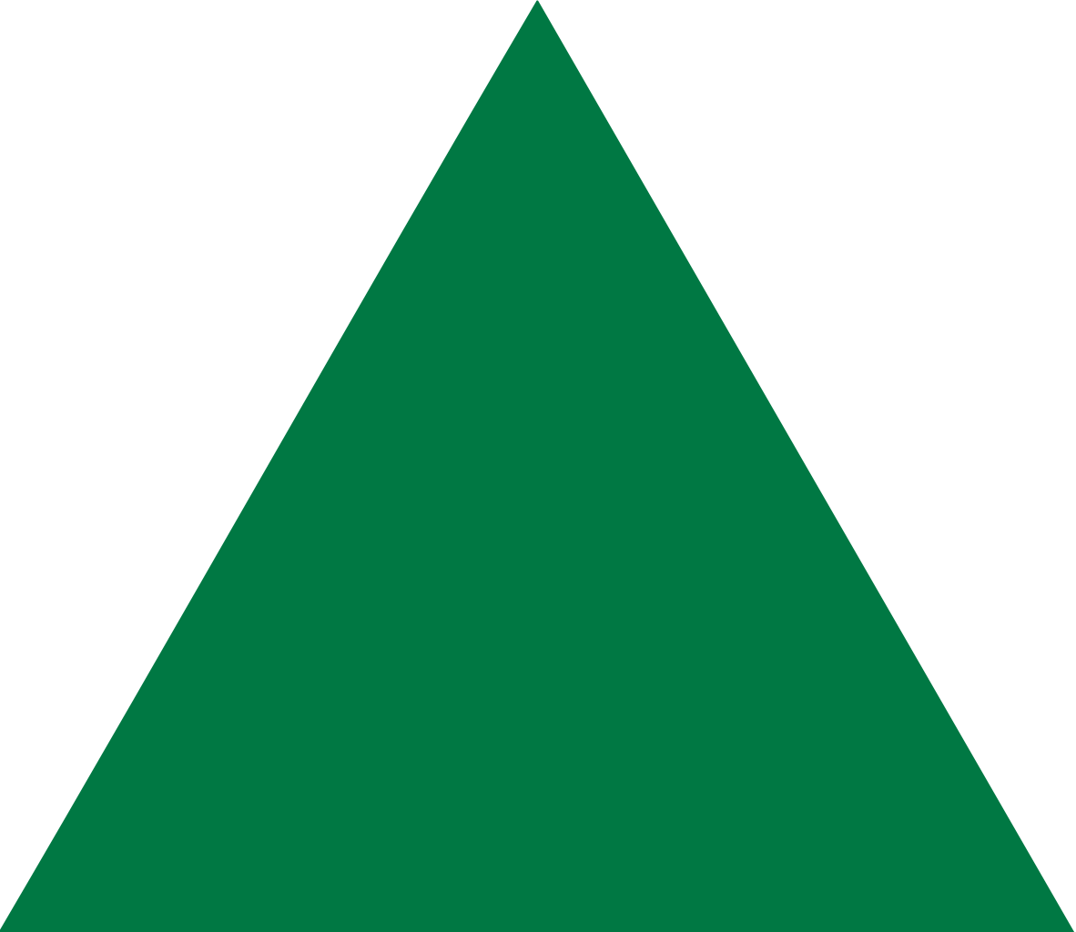 green triangle png transparent background #41345