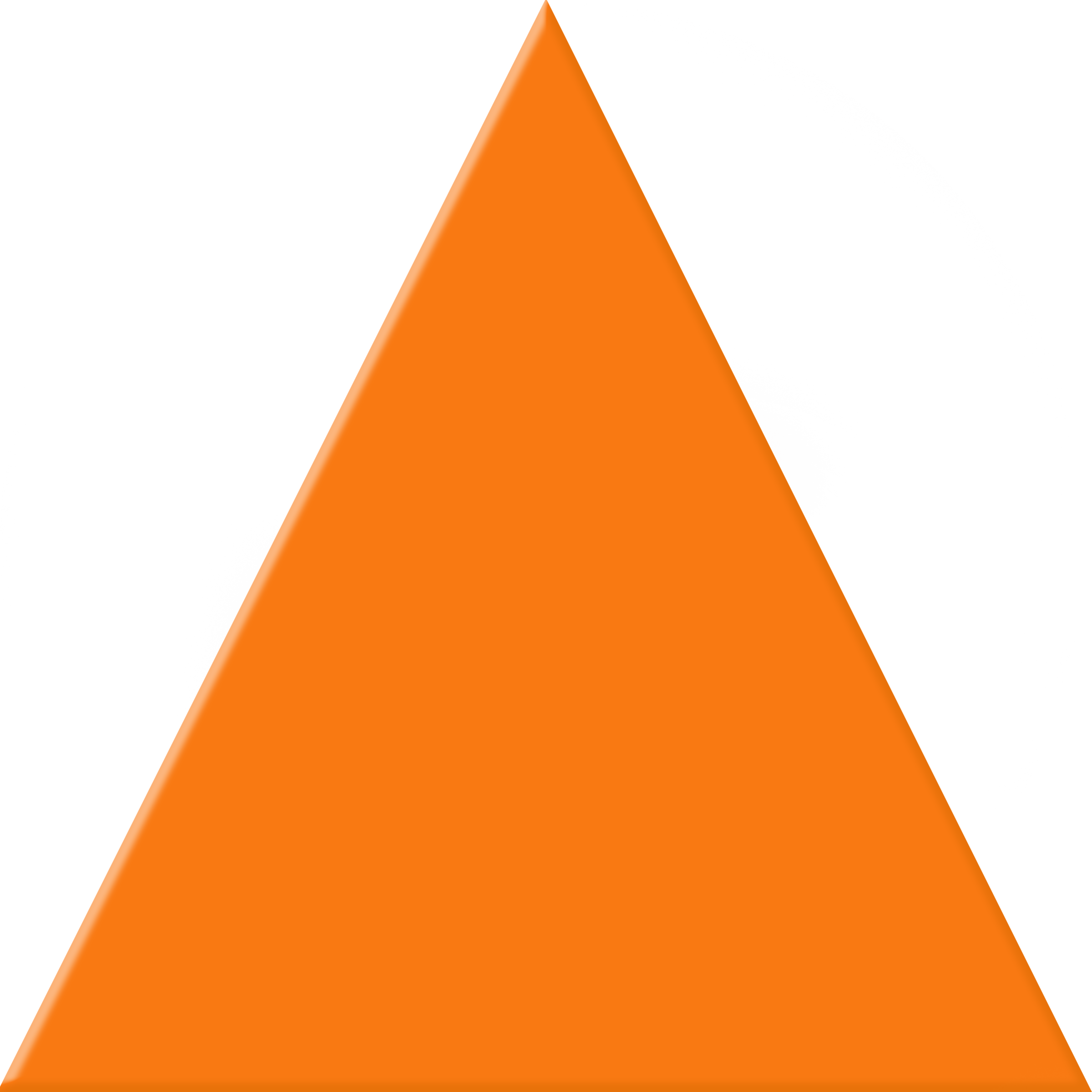 orange triangle png #41346
