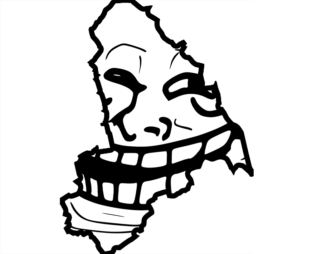 troll face, how spot troll the croydon citizen #18221