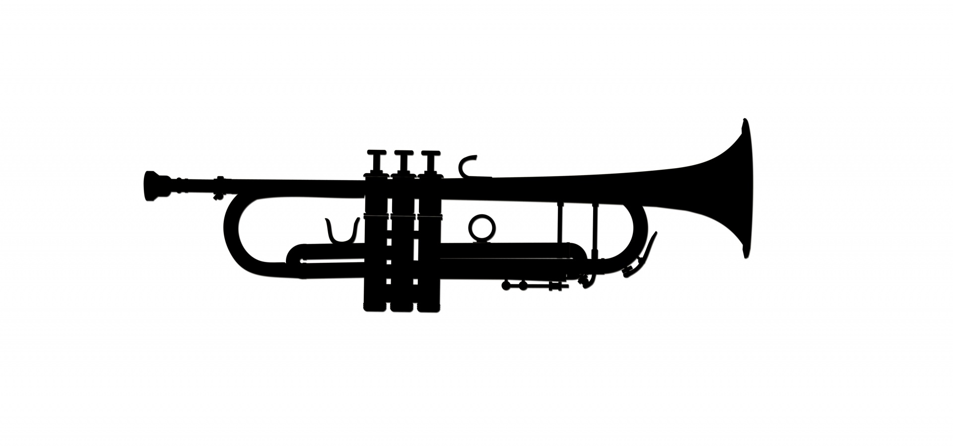 trumpet clipart, trumpet musical instrument clipart photo #31899