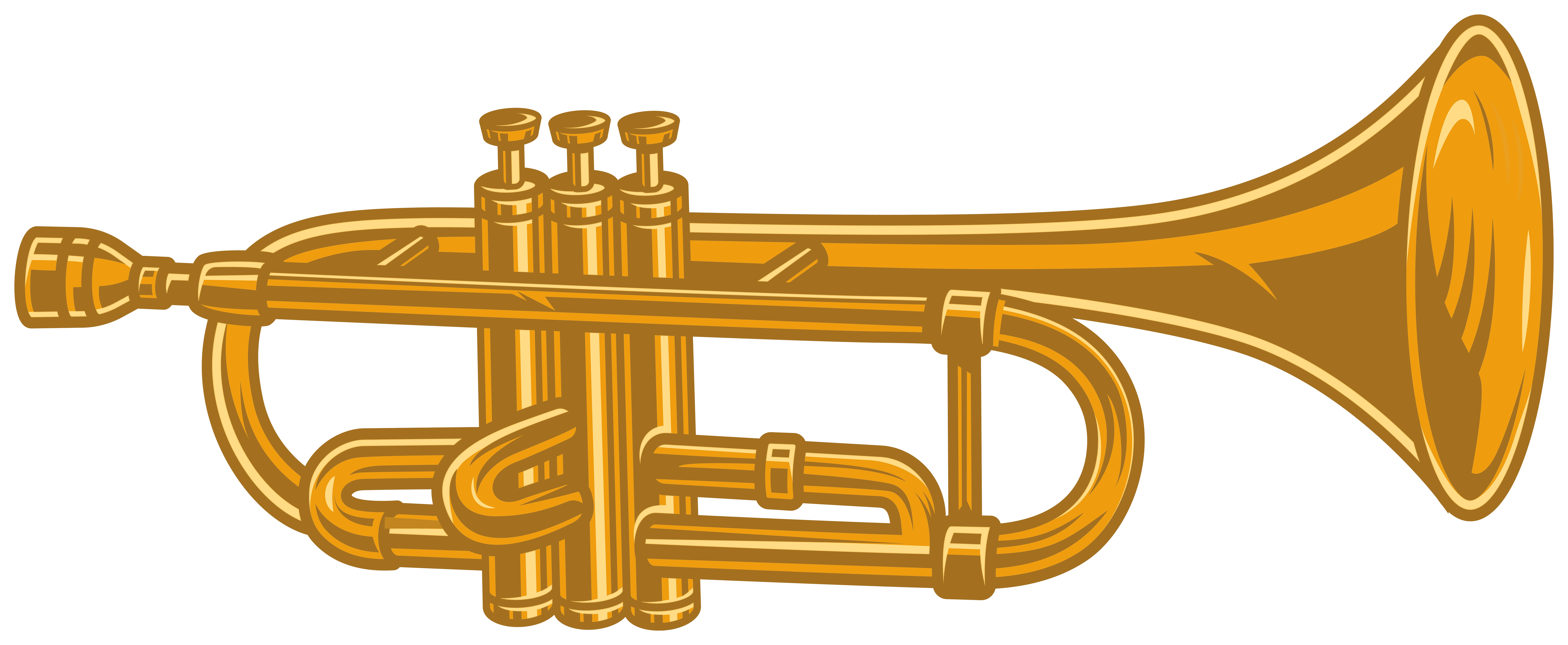 trumpet png clipart gallery yopriceville high quality images and transparent png clipart #29538