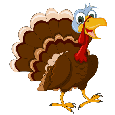 thanksgiving walking turkey transparent png #36192