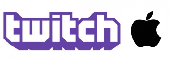 twitch tv logo with apple png