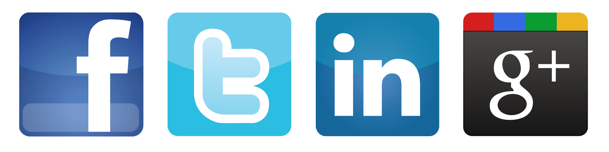 twitter, facebook, linkedin, google plus logo button png image #1852