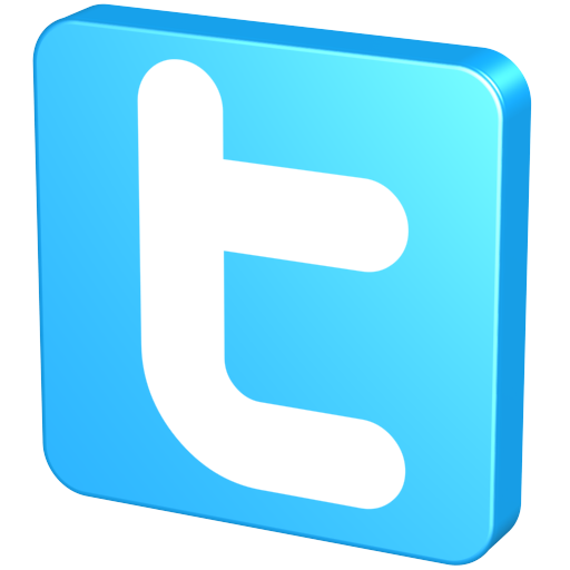 blue twitter logo icon png #5866