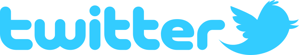 twitter logo with birds symbol icon #40406