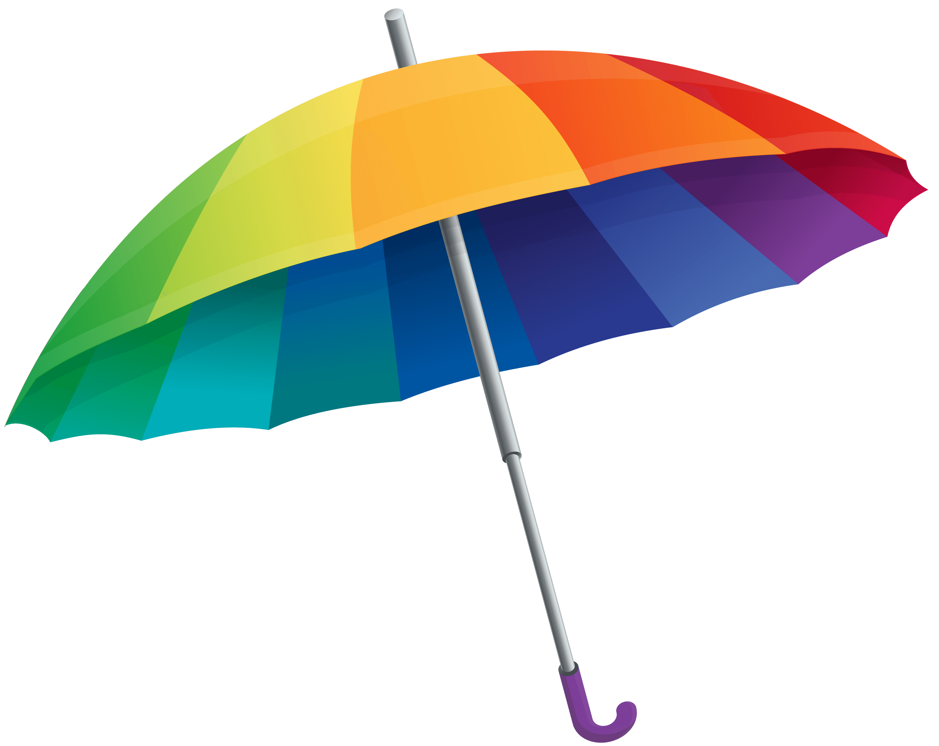 umbrella rainbow transparent png stickpng #18656