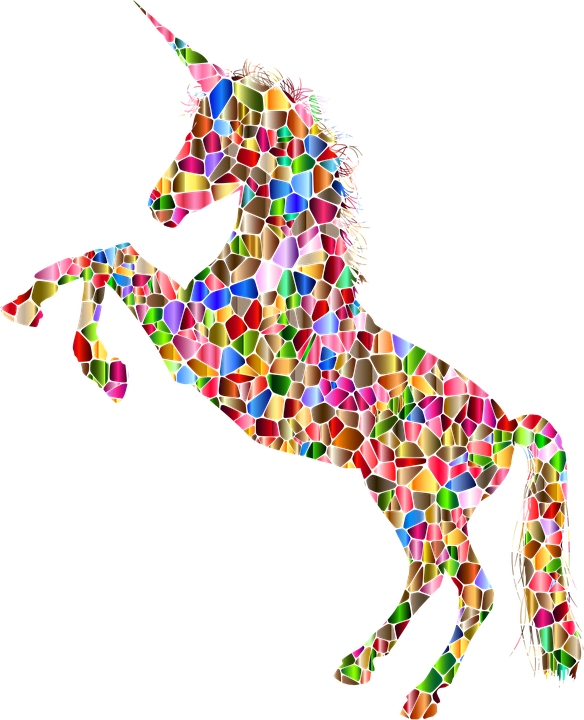 unicorn horn horse vector graphic pixabay #20202